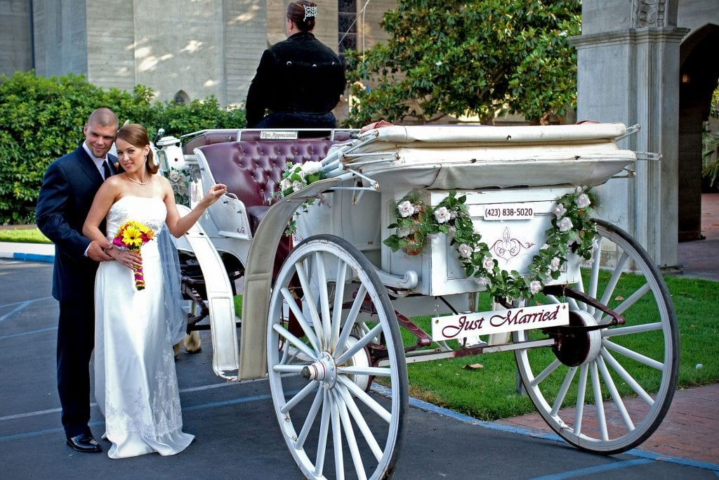 Chattanooga Wedding Carriage Rides