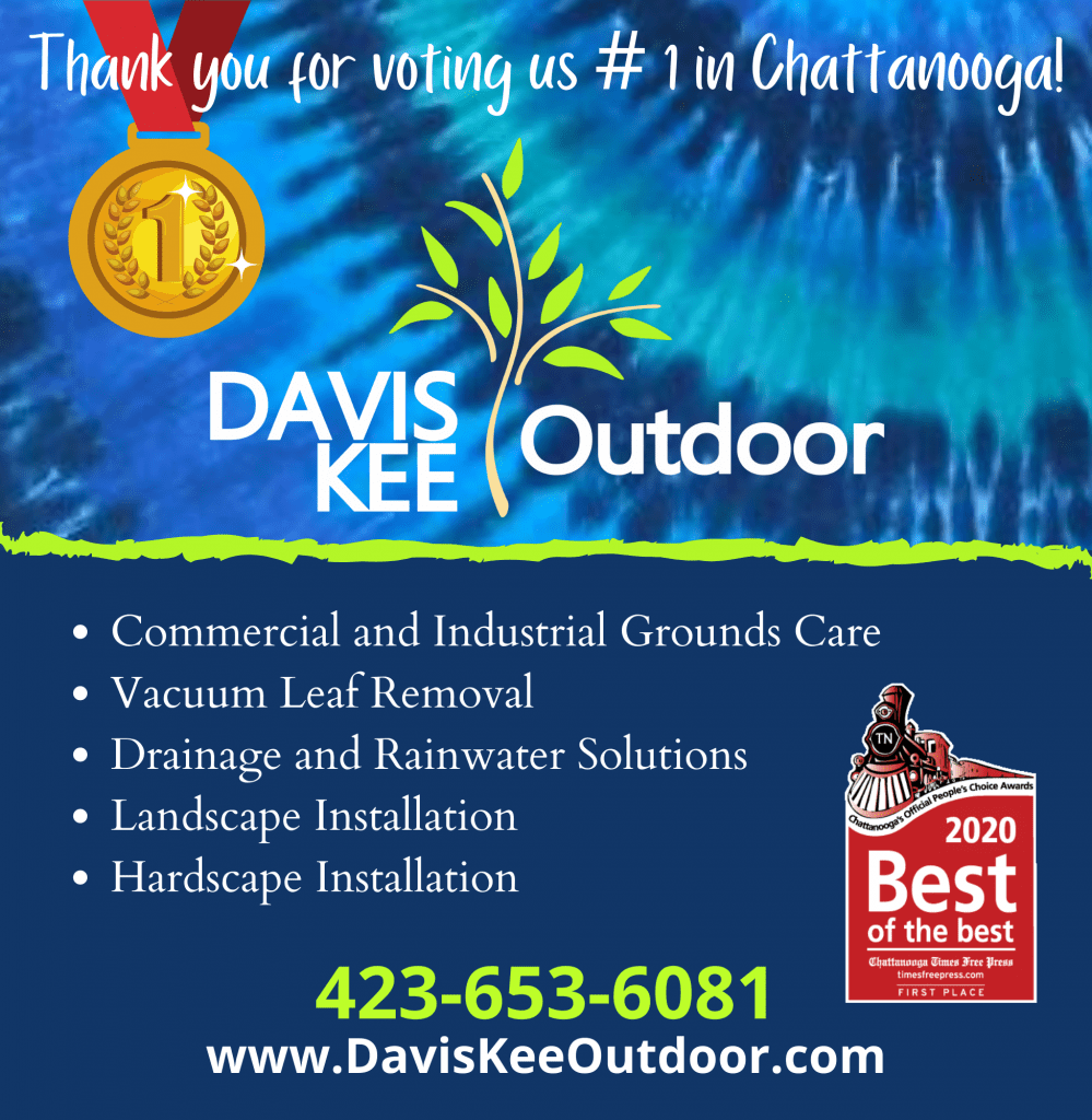 Chattanooga's Best of the Best Lawn Care and Landscaping Award for 2020